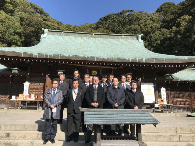 静岡地区安全祈願祭及び総会を行いました